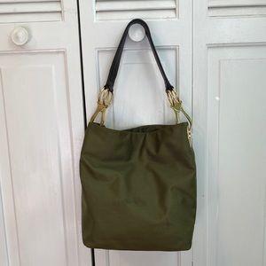 Antrprima-Nueve Olive Shoulder Bag